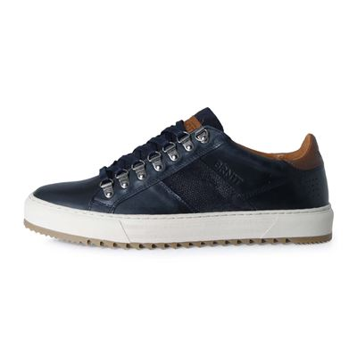 Brunotti CARCAVELOS LOW MEN NAVY. Beschikbaar in 40,41,42,43,44,45,46 (F192175075-F0133)