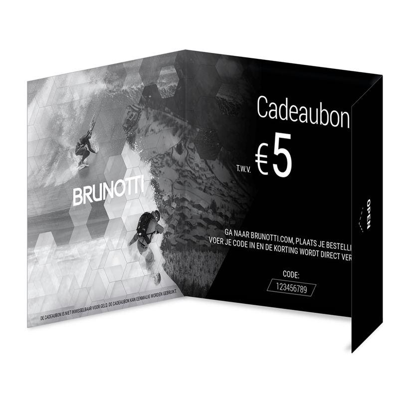 Brunotti Giftcard 5 Euro (Black) - MEN GIFTCARD - Brunotti online shop