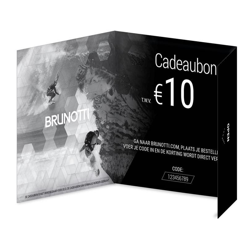 Brunotti Giftcard 10 Euro (Black) - MEN GIFTCARD - Brunotti online shop
