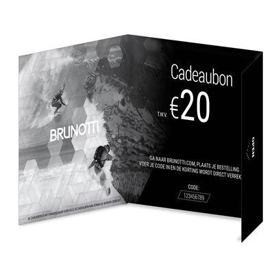 Brunotti Giftcard 20 Euro Uni. Beschikbaar in One Size (PRE999003-00)